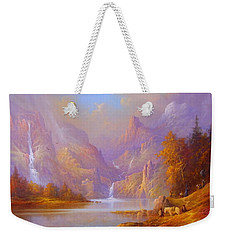 Journey To Moria Weekender Tote Bag by Joe Gilronan
