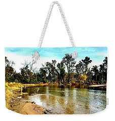 Journey To The Rivers Bend Weekender Tote Bag