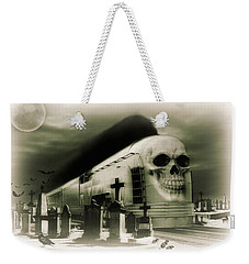 Weekender Tote Bag featuring the photograph Journeys End by Steven Agius