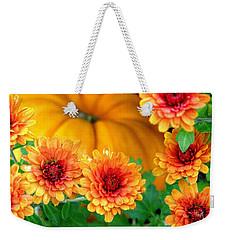 Joy Of Autumn Weekender Tote Bag by Angela Davies
