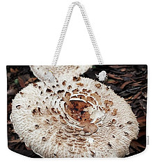 Weekender Tote Bag featuring the photograph Joy Walking In The Woods by Mr Photojimsf