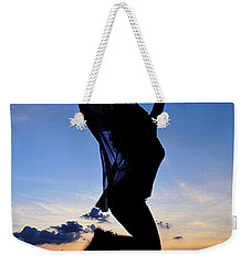 Joyful Jump Weekender Tote Bag