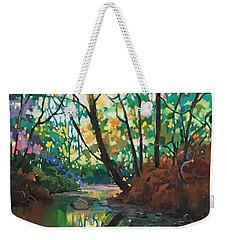 Joyful Morning Weekender Tote Bag