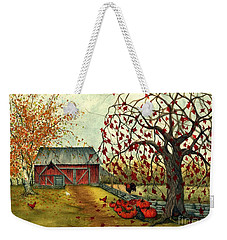 Joyful Noise Weekender Tote Bag by Janine Riley