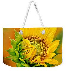 Joyful Sunflower Weekender Tote Bag