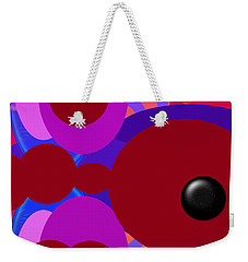 Weekender Tote Bag featuring the photograph Joyful by Tina M Wenger