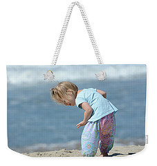 Weekender Tote Bag featuring the photograph Joys Of Childhood by Fraida Gutovich