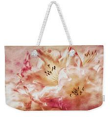 Jubilee Blush Weekender Tote Bag