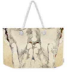 Jude Law Weekender Tote Bag by Mihaela Pater