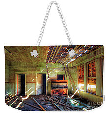 Weekender Tote Bag featuring the photograph Judith Gap Piano by Craig J Satterlee