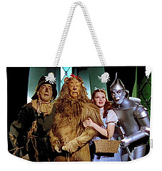 Judy Garland And Pals The Wizard Of Oz 1939-2016 Weekender Tote Bag by David Lee Guss