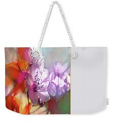 Juego Floral Weekender Tote Bag by Alfonso Garcia