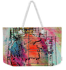Jug Drawing Weekender Tote Bag