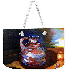 Jug Mug And Spoon Weekender Tote Bag