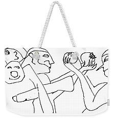 Juggling Osiris Weekender Tote Bag
