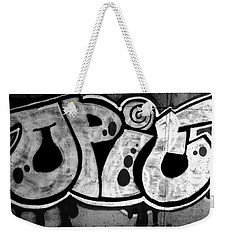 Juicy Black Pie Weekender Tote Bag
