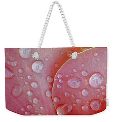 Juicy Petals Weekender Tote Bag by Patricia Strand