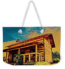 Juju's Cabin Weekender Tote Bag