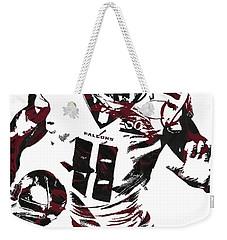 Julio Jones Atlanta Falcons Pixel Art 4 Weekender Tote Bag