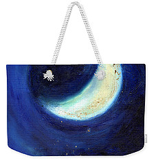 July Moon Weekender Tote Bag by Nancy Moniz