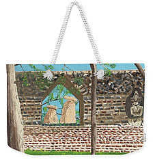 July  Portal Of Enlightenment Weekender Tote Bag