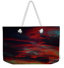 July Sky Weekender Tote Bag by Jesse Ciazza