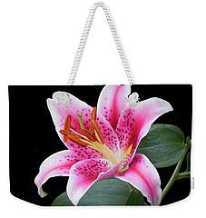 July Stargazer Lily Weekender Tote Bag