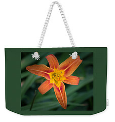 July Tiger Lily Weekender Tote Bag