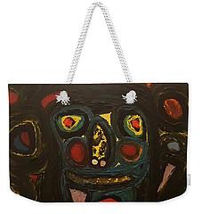Jumbled Mindset Weekender Tote Bag