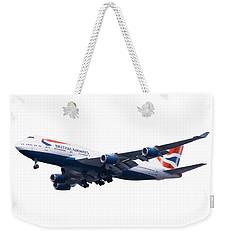 Jumbo Jet Weekender Tote Bag