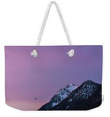 Jumbo Sunrise Weekender Tote Bag