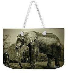 Jumbo The Elepant Circa 1890 Weekender Tote Bag