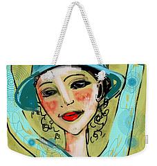 Jump For Joy Weekender Tote Bag by Elaine Lanoue