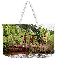 Jump With Joy Weekender Tote Bag