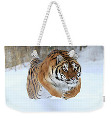 Jumping Tiger Weekender Tote Bag