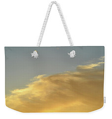 Weekender Tote Bag featuring the photograph June 3 - 2016 Clouds  by Lyle Crump