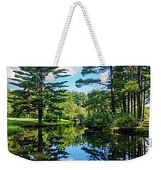 Weekender Tote Bag featuring the photograph June Day At The Park by Kendall McKernon