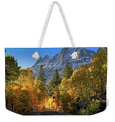 June Lake Loop Weekender Tote Bag by Donna Kennedy