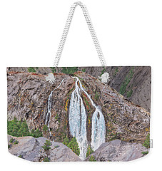 June Lake Loop Falls Weekender Tote Bag