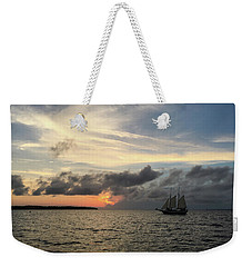 Weekender Tote Bag featuring the photograph June Sunset by Gregg Southard