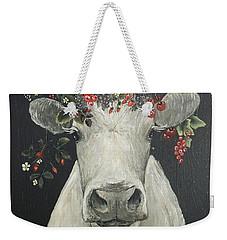 June The Berry Cow Weekender Tote Bag