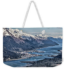 Juneau From Above Weekender Tote Bag