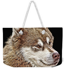 Weekender Tote Bag featuring the photograph Juneau by Rhonda McDougall