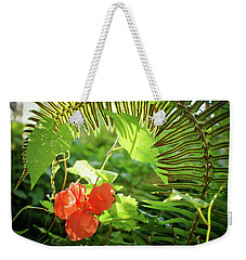 Jungle Begonia Weekender Tote Bag