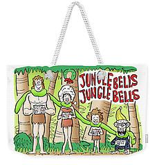 Jungle Bells Weekender Tote Bag