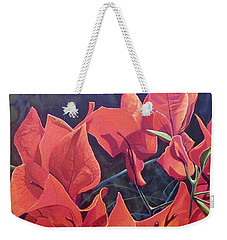 Jungle Fire Weekender Tote Bag