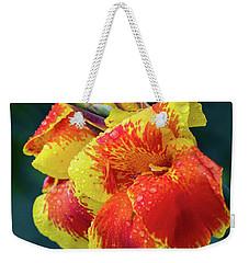 Jungle Flowers Weekender Tote Bag