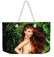 Jungle Girl Weekender Tote Bag