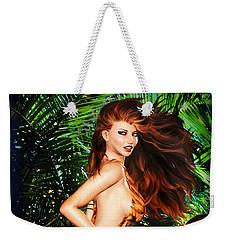 Jungle Girl Weekender Tote Bag