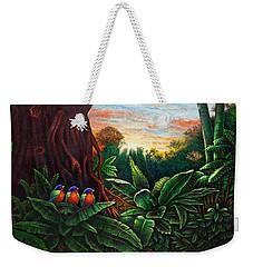 Jungle Harmony 3 Weekender Tote Bag